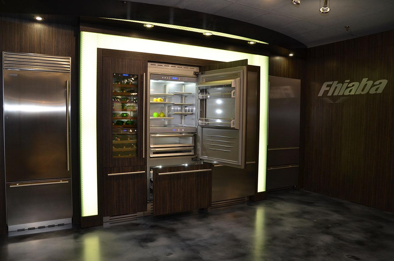 fhiaba frigoriferi per cucine di alta gamma
